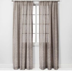 PROJECT 62 Richter Clipped Sheer Curtain Panel 84L